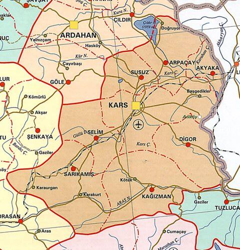 Image result for doğukapı akyaka kars sarikamış demiryolu haritası